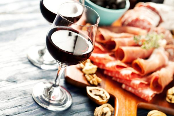 Wine and charcuterie 1024x683 1